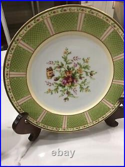 12 Buffet Pair Of Plates Old Country Roses Season Of Colour By Royal Albert New