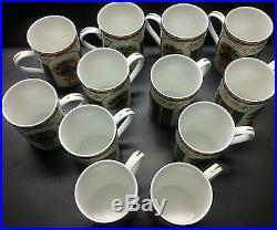12 New Royal Albert Coffee Cups Old Country Roses Seasons Of Colour Collection