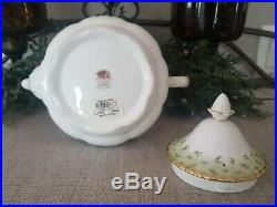 1962 Royal Albert Old Country Rose Green Accent Trim China Limited Edition
