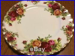 20 pieces (4, 5 place sets) Royal Albert Old Country Roses Bone China England