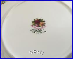 24 Pce Royal Albert Old Country Roses 6 Pce Place Settings Dinner Service for 4