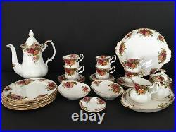 26 Teile Royal Albert Old Country Roses Teeservice Kaffeegeschirr Tasse 7 cm