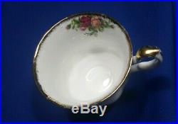 5 Royal Albert Old Country Roses Large Dinner Plate, Salad, B&b, Saucer, & Mug
