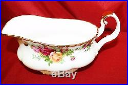 85 Piece Royal Albert Old Country Roses Made in England Service for 12 Plus MINT