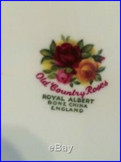 Bone China Royal Albert Old Country Roses 22 Piece Teaset Including Teapot
