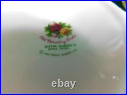 D3 Royal Albert Old Country Roses 4 6pc Place Settings 24pc
