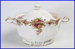 Excellent Royal Albert Old Country Roses Soup Tureen with Lid Near Mint