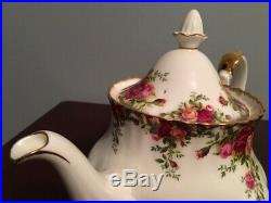 FULL 50 PC LOT Service for 9 Royal Albert Old Country Roses 1962 England China