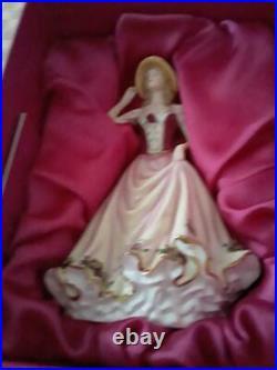 HTF Royal Albert Old Country Roses 2009 lady figurine NIB Free Shipping