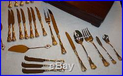 HUGE! Royal Albert Old Country Roses 1962 Made in England 100PC PLUS FLATWARE