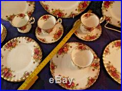 Kaffee Service, Royal Albert England, Old Country Roses, 21 Teile