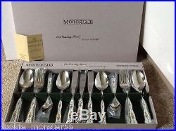 Monogram Royal Albert Old Country Roses Cutlery Set RARE