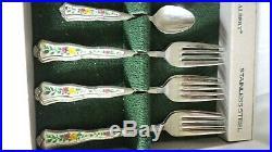 Monogram Royal Albert Old Country Roses Cutlery Set unused great gift