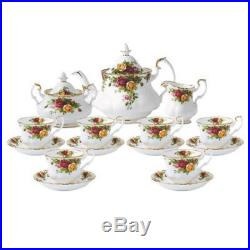 NEW ROYAL ALBERT Old Country Roses 15 Piece Teaset