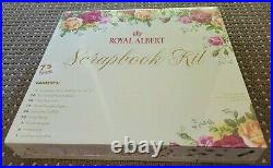 NEW SEALED ROYAL ALBERT Old Country Roses 75 Piece Scrapbook Kit VERY RARE