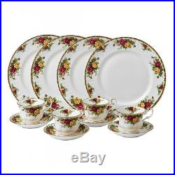 Old Country Roses 12-piece Dinnerware Set Royal Albert New In The Box