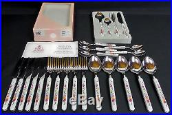 Old Country Roses 24 Piece Cutlery Set, Very Good Condition, Viners Royal Albert
