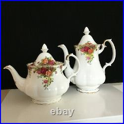 Old Country Roses Coffee and Tea Pot 1962