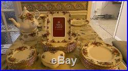 Old country roses royal albert dinnerware set