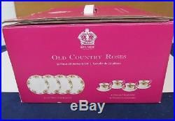 Pattern Old Country Roses By Royal Albert China 12 Piece Set 1904 New Boxed