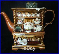 Paul Cardew Design Large Royal Albert Welsh Dresser Teapot Old Country Roses
