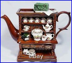 Paul Cardew Design Royal Albert Old Country Roses Welsh Dresser Teapot Large