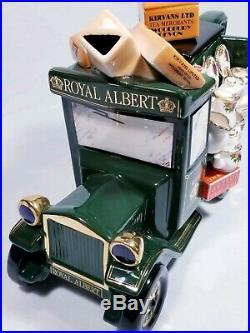 Paul Cardew Royal Albert Old Country Roses Kirvans Teapot Large Green Truck