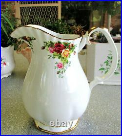 RARE ROYAL ALBERT Old Country Roses Large Size Water Jug 1st Quality