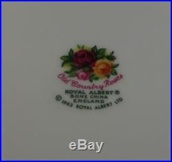 Royal Albert Old Country Roses 4 Five Piece Place Settings 20 Piece Set In Box