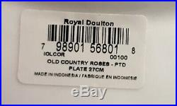 ROYAL ALBERT OLD COUNTRY ROSES 4 PLACE SETTINGS 20 Pieces NEW in BOX w Tags