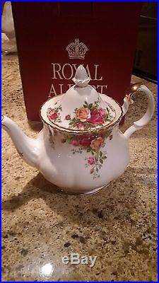 ROYAL ALBERT OLD COUNTRY ROSES COLLECTION5 PC SERVICE FOR 8 + MUCH MORE