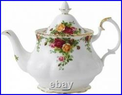 ROYAL ALBERT OLD COUNTRY ROSES TEAPOT (LARGE) 1.25ltr / 42oz NEWithUNUSED