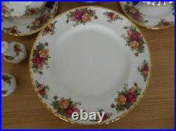 ROYAL ALBERT OLD COUNTRY ROSES dinner / tea / breakfast set ALL 1st QUALITY