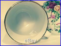 ROYAL ALBERT Old Country Roses Fine China- 28 Pieces- NWT Plus Bonus