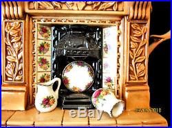 ROYAL ALBERT Old Country Roses Large Fireplace Teapot Excellent Cond