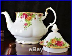 ROYAL ALBERT Old Country Roses Teapot Large Size (6 8 Cups)