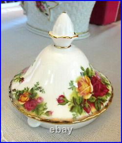 ROYAL ALBERT Old Country Roses Teapot Medium Size 1st Quality As New