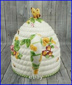 ROYAL ALBERT Seasons of Colour Old Country Roses Teapot Beehive Bees