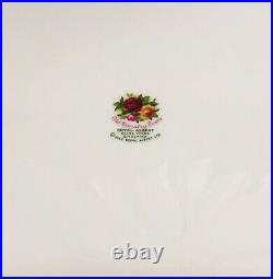 Rare Doulton Royal Albert Old Country Roses England Large Serving Salad Bowl