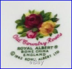 Rare Large Royal Albert Old Country Roses England 32 Oz Water Pitcher Ewer Jug