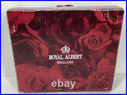 Rare Royal Albert Old Country Roses Double Light Switch Plate Cover Nib