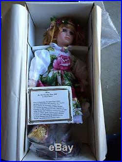 Rare Royal Albert Old Country Roses ROSE DOLL NIB