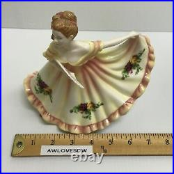 Rare Royal Doulton Old Country Roses Pretty Ladies Figurine Charlotte Hn4949