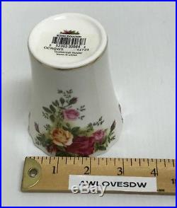 Rare Royal Doulton Royal Albert Old Country Roses Vanity Toothbrush Holder