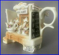 Rare Vintage collectible 1996 Royal Albert Old Country Roses Cardew Teapot