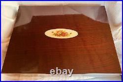 Royal Albert 18/10 China 45 Pcs. Flatware Set With Case New