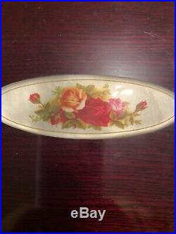 Royal Albert 18 10 Old Country Roses Flatware Service For 12 Plus Serving Pieces