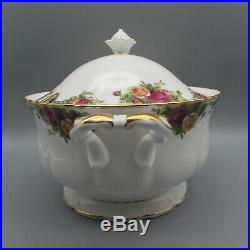 Royal Albert Bone China OLD COUNTRY ROSES Large Soup Tureen