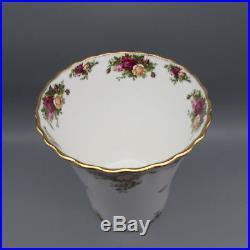 Royal Albert Bone China OLD COUNTRY ROSES Waste Basket RARE