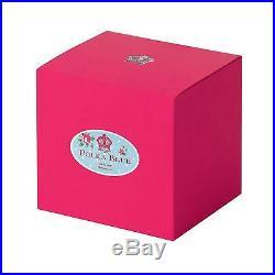 Royal Albert China New Country Roses Polka Blue Tea for One, New, Free Ship